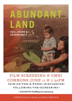 Film Screening @ Omni Commons flyer