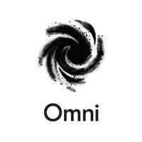 omni logo white