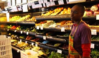 Adrionna Fike at Mandela Foods
