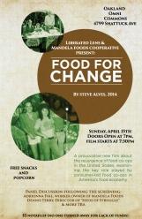 Food for Change film night