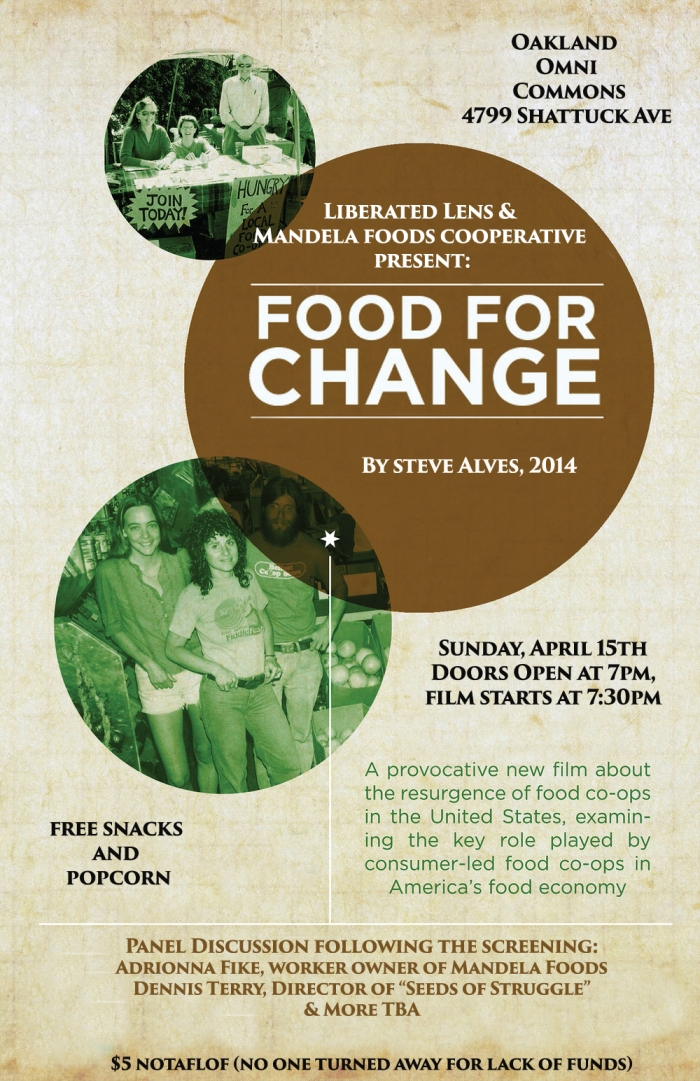 Food for Change film night