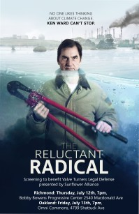 poster Reluctant Radical with screenings