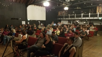 "audience for ""13th"" screening, 8/26/18"