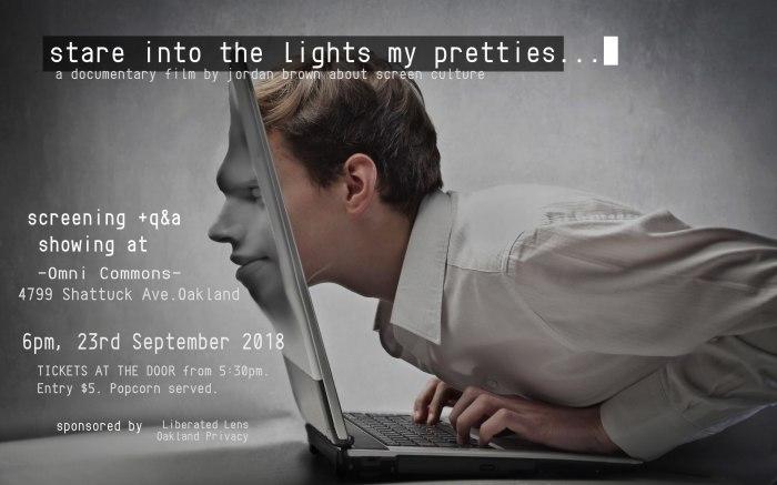 StareIntoTheLightsMyPretties_PosterOC